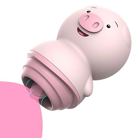 Đồ Chơi Tình Dục Lưỡi Cao Su Piglow - Đồ chơi tình dục nhỏ xinh. Pig Language mới khai trương tiếp tục phát triển với 10.000 tin tức và phản hồi tích cực. Hình ảnh chú heo hấp dẫn mang đến sự ấm áp, thu hút phái đẹp - đẹp, lông chỉnh chu, rất thật, bú - vươn vai, chạy nhảy thoải mái mọi lúc mọi nơi.  Toàn bộ thân máy mát xa được làm bằng nhựa ABS cao cấp chống bám vân tay, không bám vân tay và quan trọng nhất là silicon y tế mềm mại. Thả lưỡi lợn ra - bạn có thể thả lỏng tay lợn bằng cách di chuyển hoặc đẩy nó một cách thoải mái. Khi muốn sử dụng sản phẩm Piglov Vaginal Coni, bạn phải xoay sản phẩm để mở chính giữa lưỡi thì mới có thể tự sướng được. Sản phẩm được thiết kế để chị em tự sướng với chiếc lưỡi mềm mại không chạm vào các cử động mút của hông và trán, rất lý tưởng để kích thích các vùng nhạy cảm như ngực và bộ phận sinh dục. Tình dục Faj. Việc rèn luyện tinh thần chuyên sâu chắc chắn sẽ làm bạn thích thú với nhiều chế độ rung khác nhau của nó.
